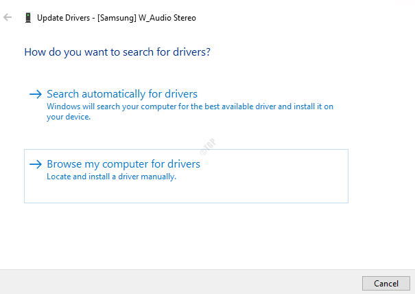 Browsemycomputerfordrivers
