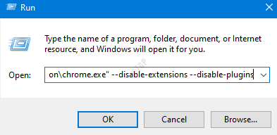Chromewithoutextensions