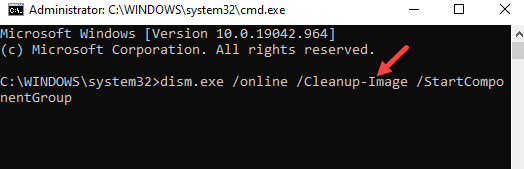 Command Prompt (admin) Run Command To Run Dism Tool Enter