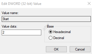Edit Dword Window