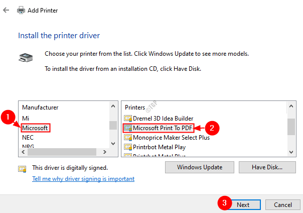 Install The Printer Driver Min