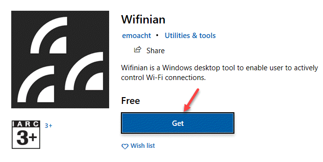 Microsoft Store Search Wifinian Get