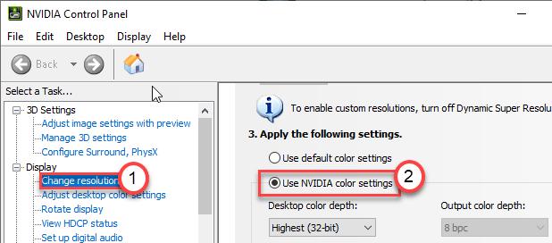 Nvidia Color Settings Min