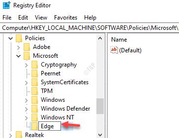 Rename New Key Edge