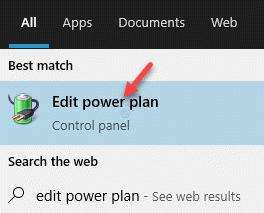 Result Edit Power Plan