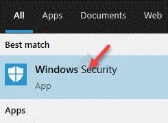 Result Windows Security