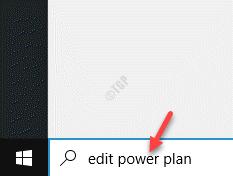 Start Windows Search Edit Power Plan