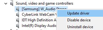 Updatesound Device
