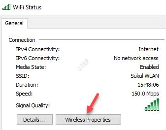 Wifi Status General Wireless Properties