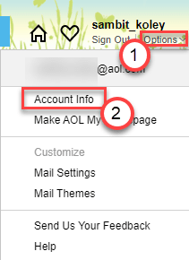 Account Info Min
