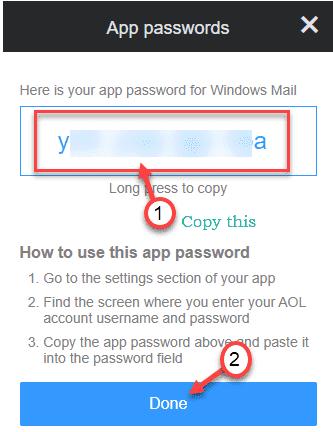 Copy Password Min
