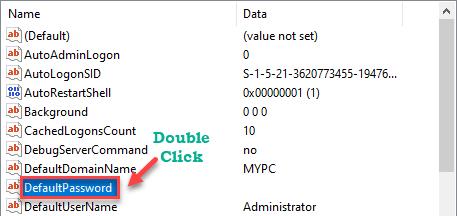 Default Password Dc Min