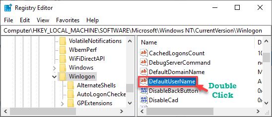 Default Username Dc Min
