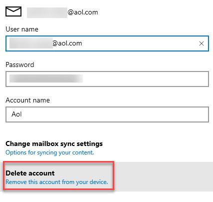 Delete Account Min