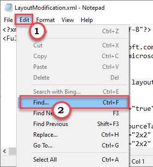 Edit Find Min