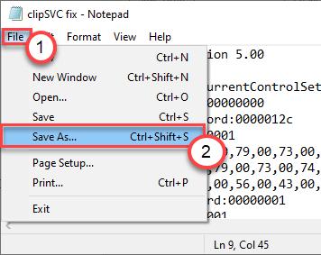 File Save As Min