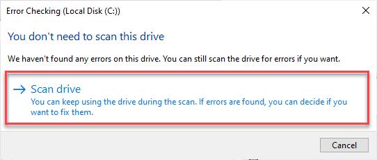 Scan Drive Min