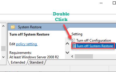Turn Off System Restore Min