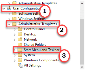 User Config Group Policy Min