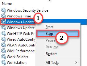 Windows Update Stop Min
