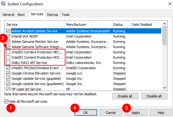 Disable Microsft And Extra Services Min