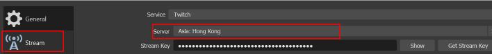 Obs Settings Stream Server Change