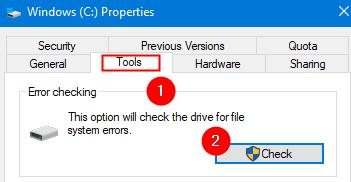 Run Error Checking