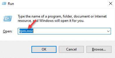 Run Command Tpm.msc Enter