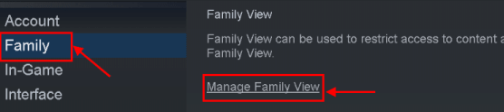 Steam Image Failed Update Family View Min