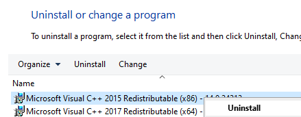 Uninstall X86 Programs