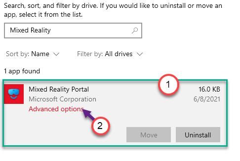 Advanced Options Min