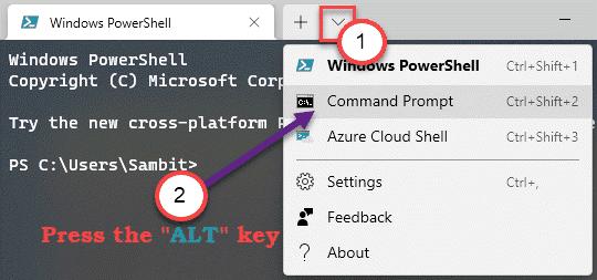 Alt Key Multi Tab Min