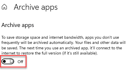 Archive App Off Min