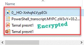 Encrypted Min
