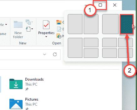 File Explorer Split Min