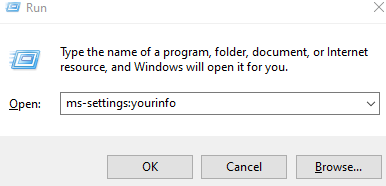 Mssetings Yourinfo