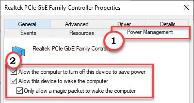 Power Management Allow Min