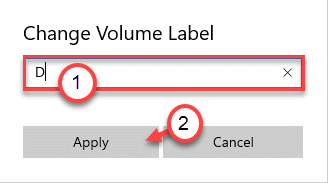 Set Label Min
