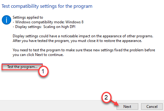 Test The Program Min