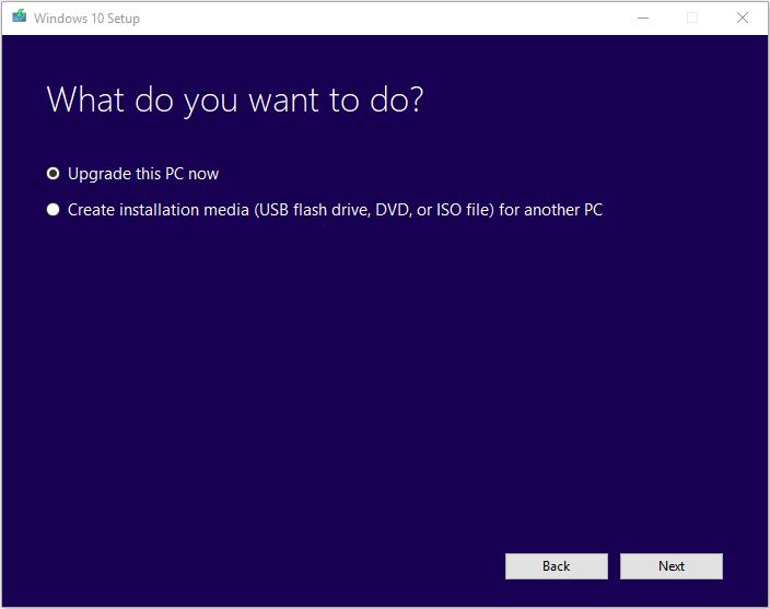 Windows 10 Media Creation Tool 3