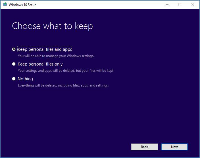 Windows 10 Media Creation Tool 9