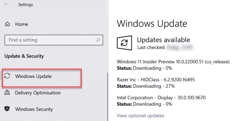 Windows Update Downloading Min