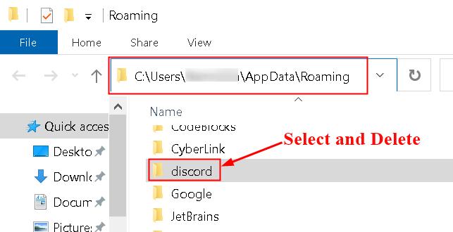 Discord App Data Delete Folder Min