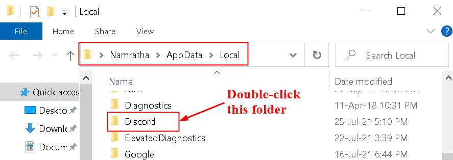 Discord Folder Appdata Local Min