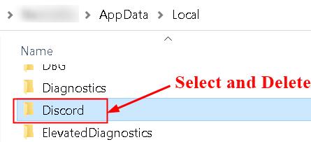 Discord Local Appdata Delete Folder