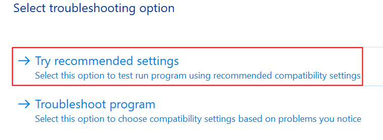 Discord Troubleshooting Try Recommended Settings Min