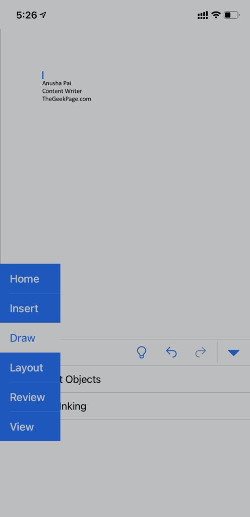 Draw Option Min
