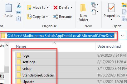 File Explorer Navigate Onedrive Folder Select All Files And Folders Delete