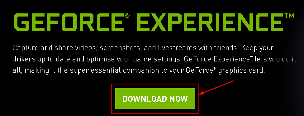 Geforce Experience Download Now Min