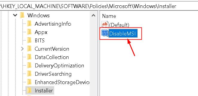 Installer Key Min